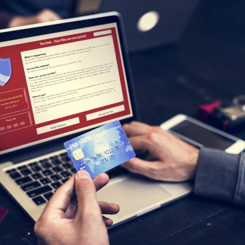 Firewall popup for security cybercrime protection
